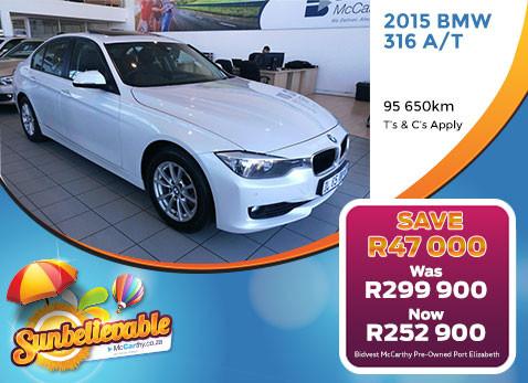2014 BMW 330D AUTO - Save R20 000