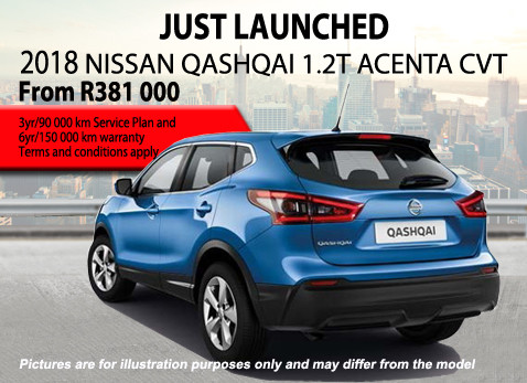 2018 Nissan Qashqai 1.2 Acenta CVT special