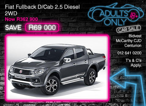 FIAT FULLBACK D/CAB 2.5 DIESEL 2WD special