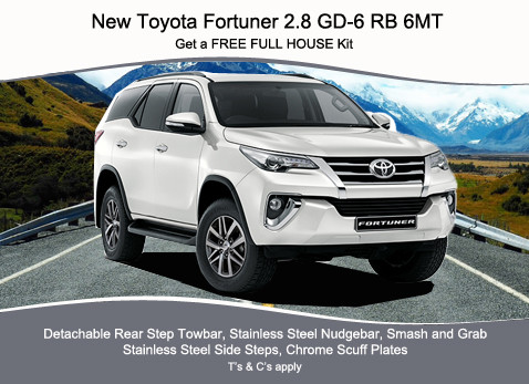 NEW TOYOTA FORTUNER 2.8 GD-6 RB 6MT