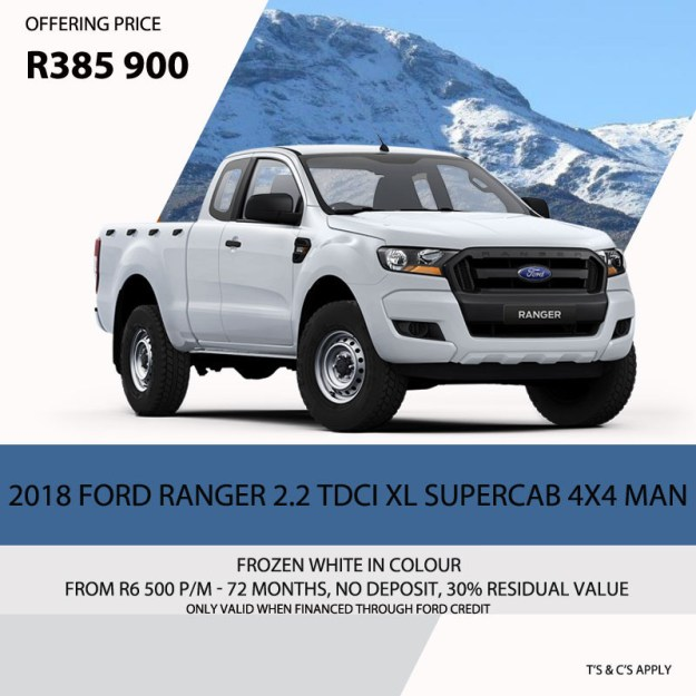 2018 Ford Ranger Special
