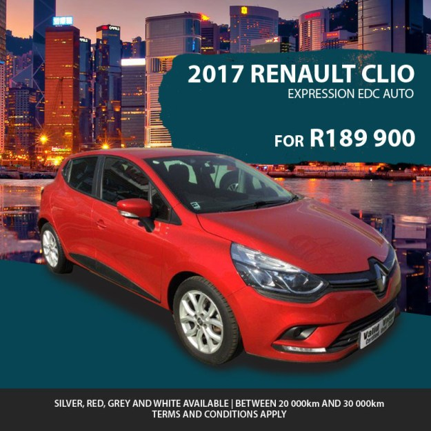 2017 Renault Clio Expression for R189 900