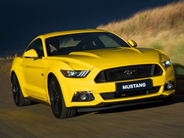FORD MUSTANG 5.0 GT COUPE AT