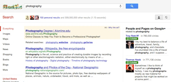 Google Search Is Google+'D! Search Plus Your World With Personal Results [Video]!