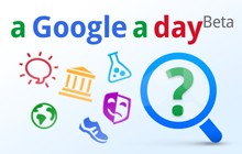 Trivia game 'a google a day' on Google+ social games
