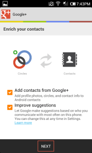 2. Set your contact preferences