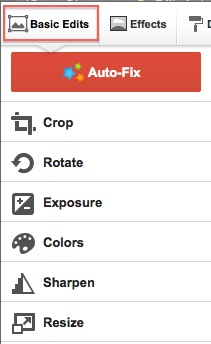 Crop, Autofix
