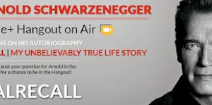 google+ hangout with Arnold Schwarzenegger (former governor of california)
