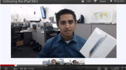 Unboxing Apple iPad Mini via a Google+ Hangout by Los Angeles Times [Video]