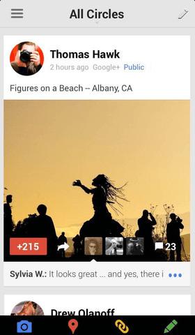 google+ ios 4.2.0 app