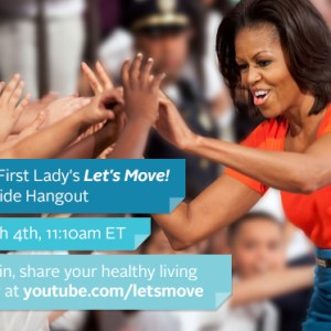 michelle obama fireside hangout