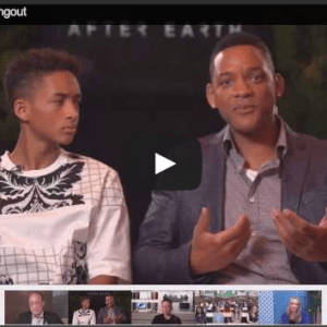 After earth hangout video