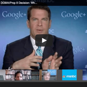 msnbc marriage equality hangout