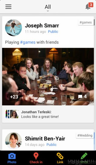 Google+ iOS app for iphone and ipad released (Images: App Store)