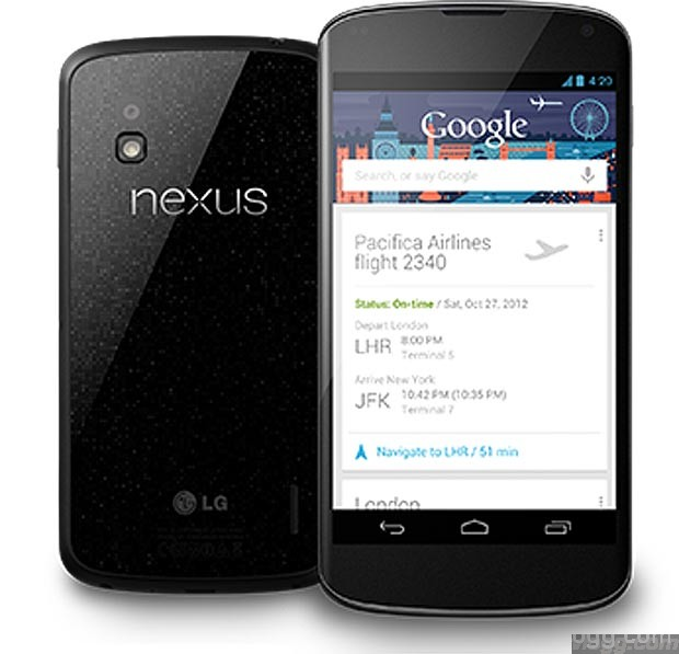 Nexus 4 Android Smartphone $100 OFF on Google Play Store!