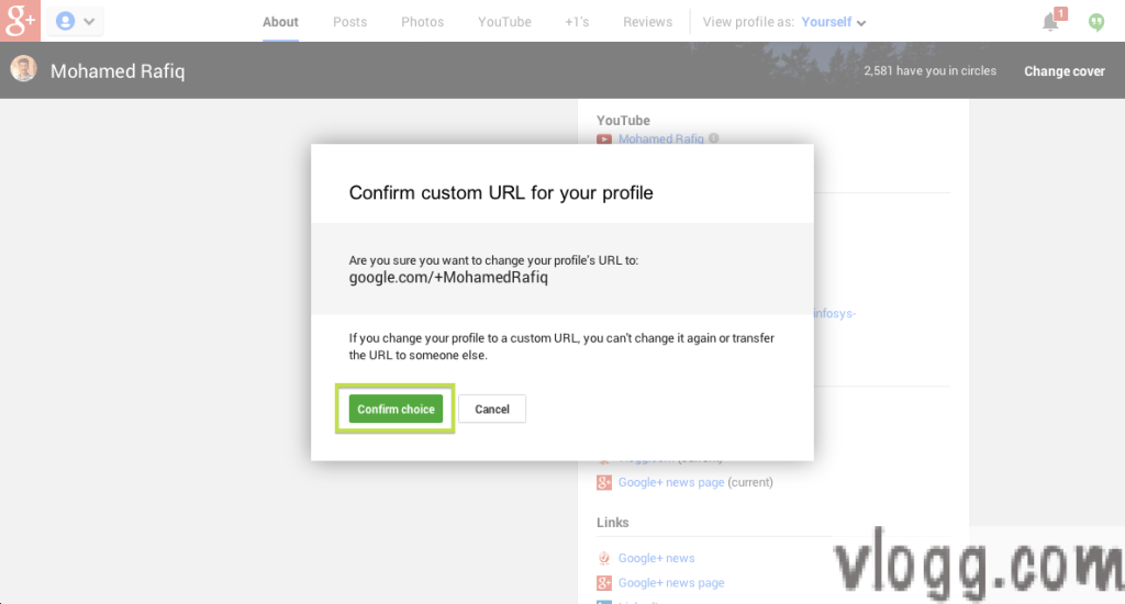 How to Claim Your Google Plus Custom URL?