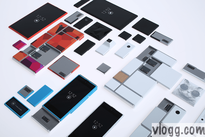 Build Your Own Smartphone by Project Ara from Motorola [images: Motorola]