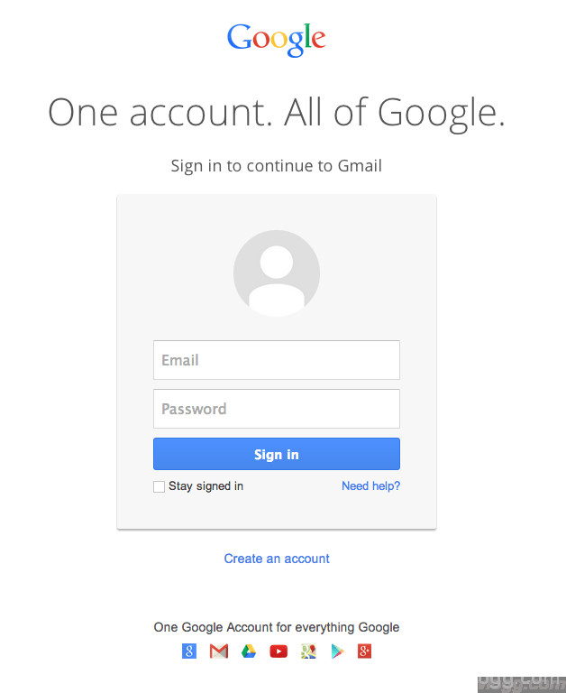 New Google Account Gmail SignIn Released