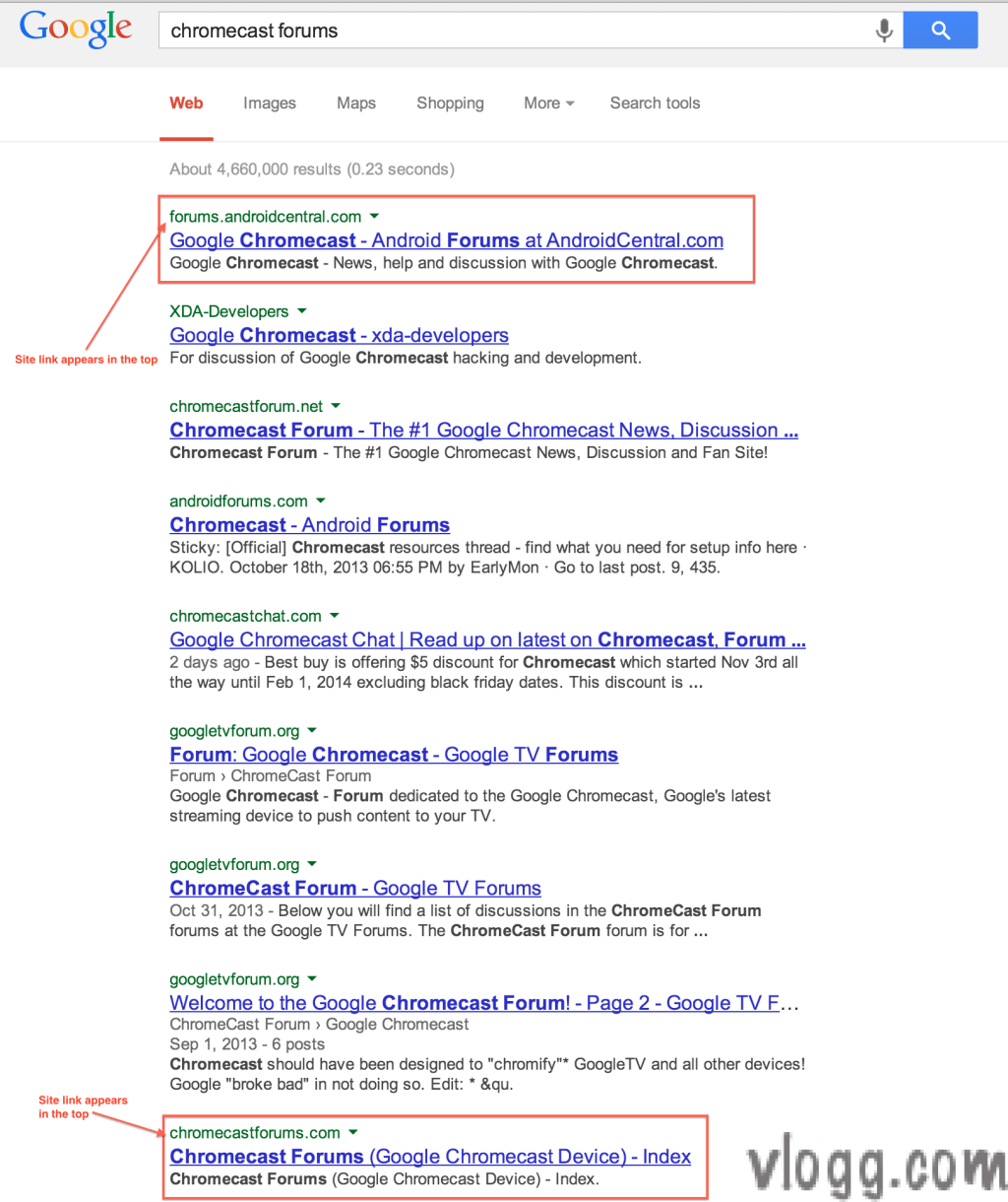 Spotted: Google Trying Search Results With Sitelinks in Top?