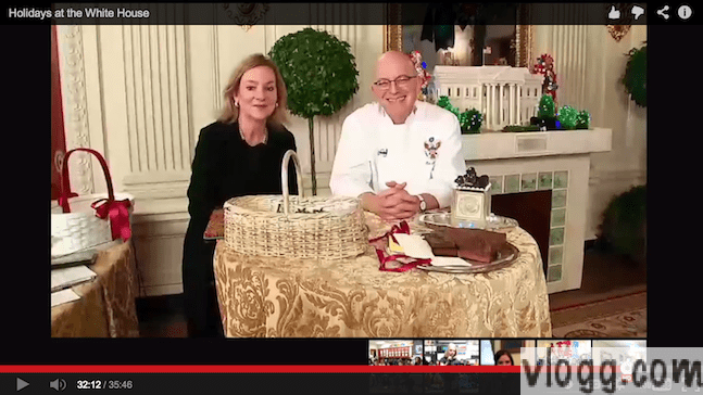 White House Holiday Decoration Tour Google+ Hangout Video