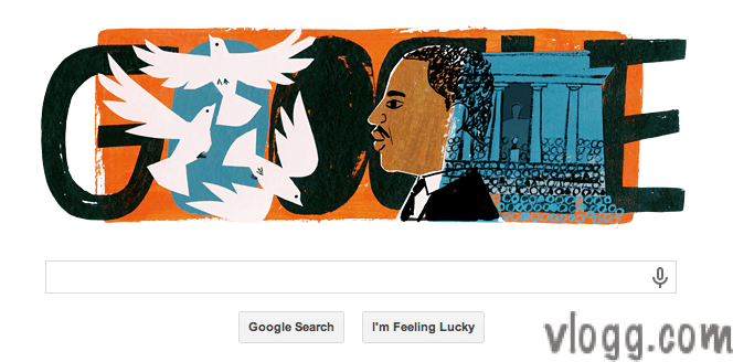 Google Doodle Honors Martin Luther King Jr. Day