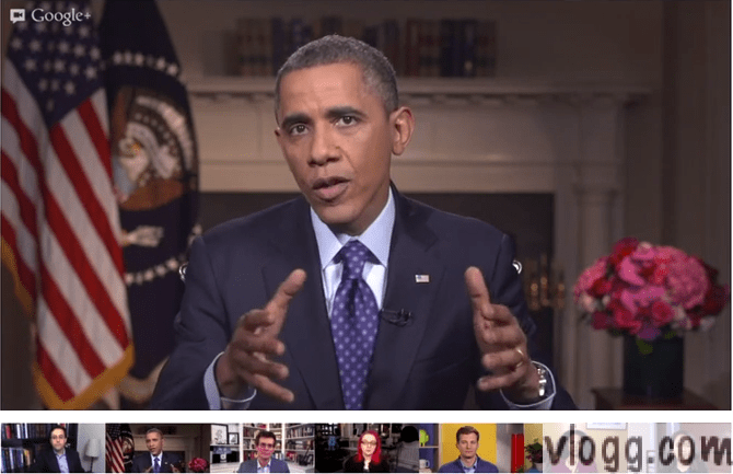 President Obama Virtual Road Trip Hangout Live Now!