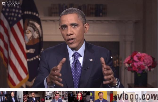 President Obama Virtual Road Trip Hangout Live Now!