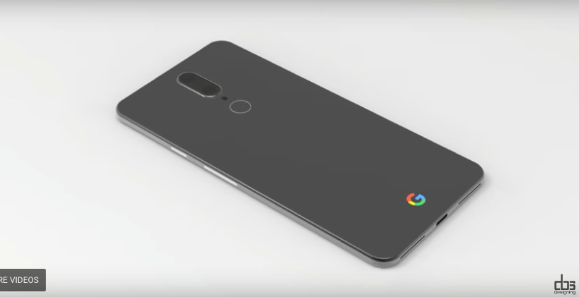 Google Pixel 2 Design Concept Pictures and Video