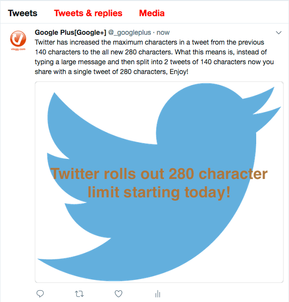 Twitter Rolls Out 280 Character Limit in Tweets Today!