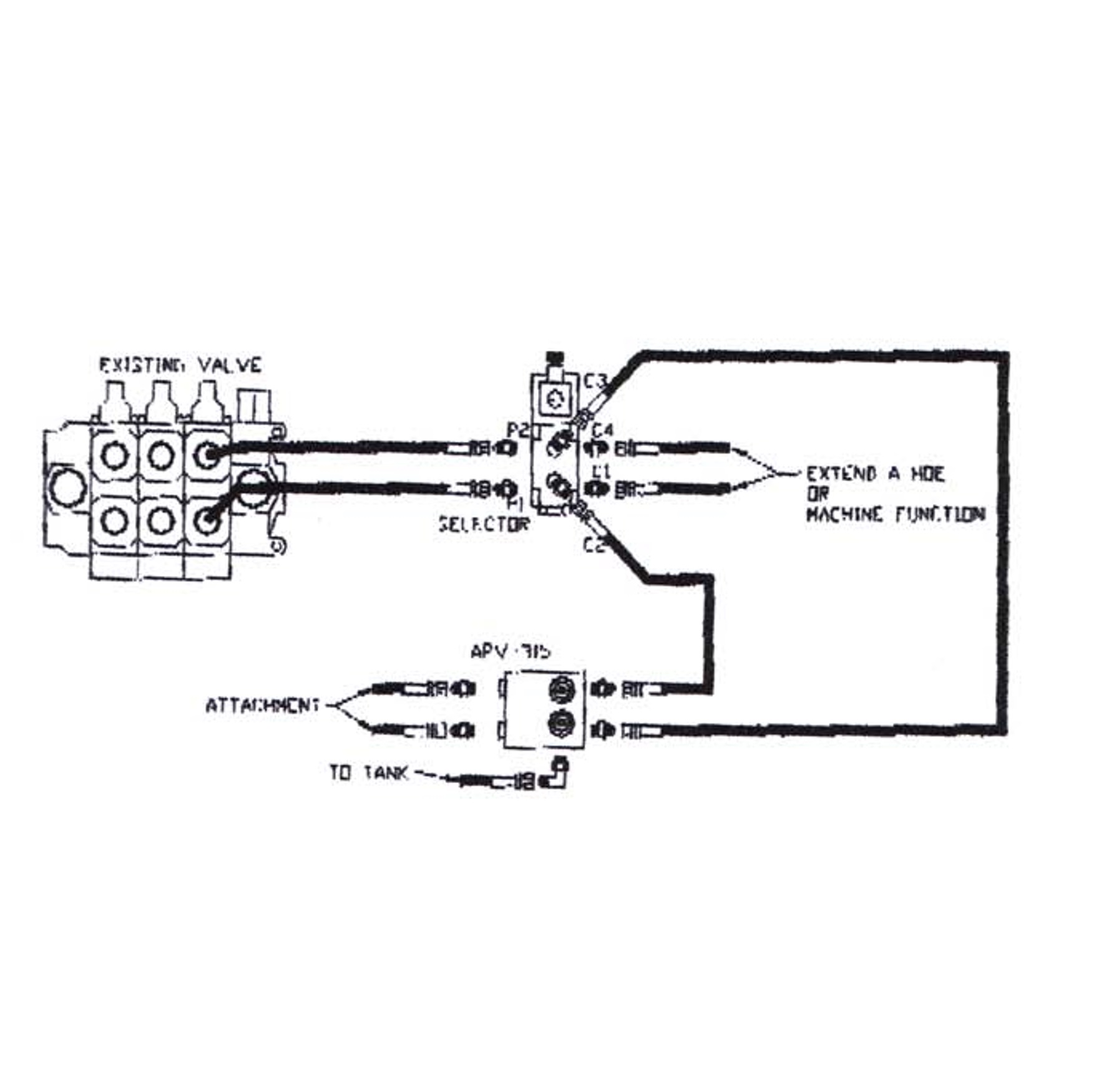 Hydraulic Diverter Kits For Backhoes Amp Excavators Dsp12 Pb