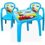 Mesa De Plastico Infantil Azul
