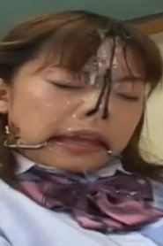Japanese School Girl Force To Masturbate And Get Some Cum Shot