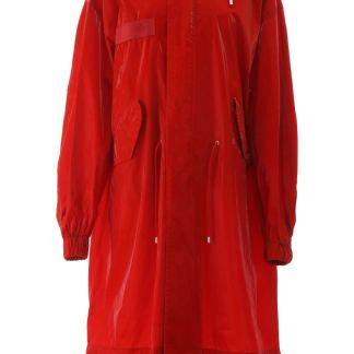 MR & MRS ITALY LONG PARKA S Red