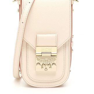MCM PATRICIA PARK AVENUE CROSSBODY BAG OS Pink Leather