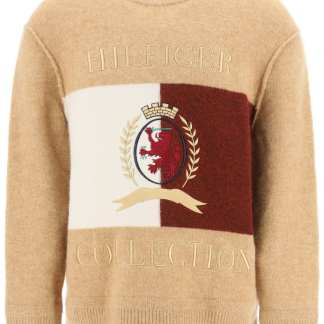 TOMMY HILFIGER COLLECTION 0 S Beige, White, Red Wool