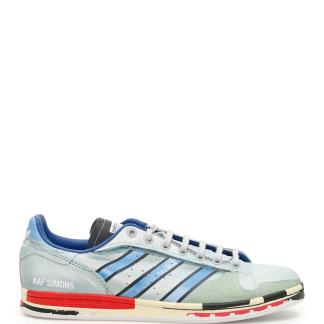 ADIDAS BY RAF SIMONS UNISEX RS MICRO STAN SNEAKERS 4,5 Light blue, Red, Green Leather