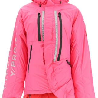 Y PROJECT Y PROJECT SKRESLET PADDED DOWN JACKET XS Fuchsia, Red Technical