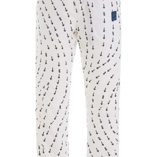 OFF-WHITE PRINTED JOGGERS M White Technical