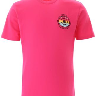 CARHARTT WORLDWIDE T-SHIRT S Fuchsia, Pink Cotton