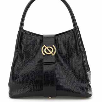 ZANELLATO RITRATTO LINE ZOE M LEATHER BAG OS Black Leather