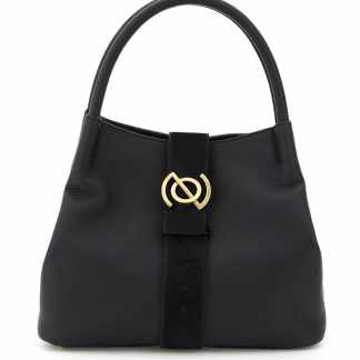 ZANELLATO PURA LINE ZOE M BAG OS Black Leather