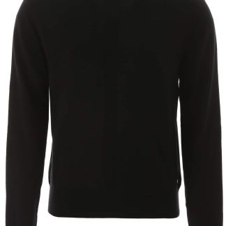 ETUDES MOCK NECK KNIT 2 Black Wool