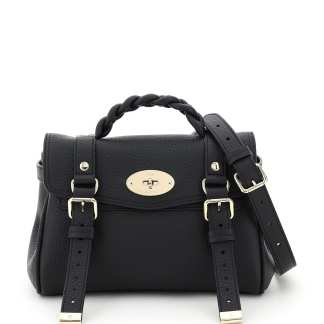 MULBERRY 0 OS Black Leather
