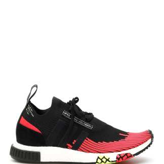 ADIDAS NMD RACER SNEAKERS 3,5 Black, Red Technical, Leather
