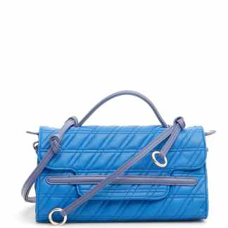 ZANELLATO ZETA NINA S BAG OS Light blue, Blue Leather