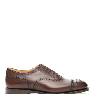CHURCH'S DIPLOMAT LACE-UPS 9 Brown Leather