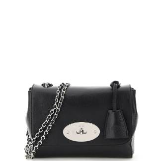 MULBERRY SMALL LILY BAG OS Black Leather