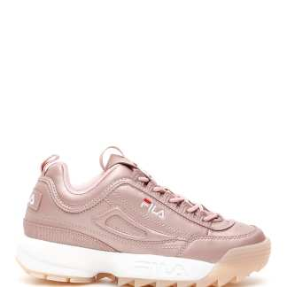 FILA DISRUPTOR SNEAKERS 9 Pink Faux leather
