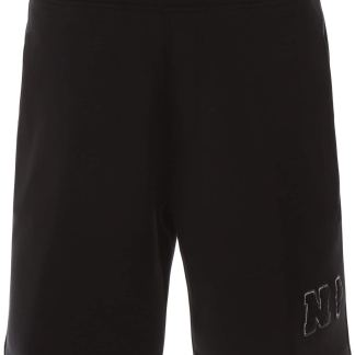 NEIL BARRETT SHORTS WITH PATCH S Black