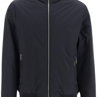 MooRER ONIRO-STP BOMBER DOWN JACKET 48 Blue Technical